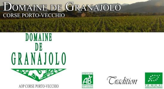 Granajolo, vin d'agriculture biologique