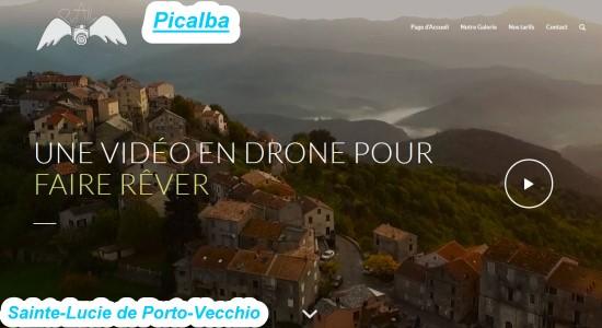 Picalba : vidéos en drone en Corse